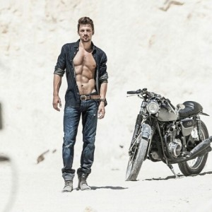 biker boy
