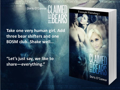 Claimed by her Bears Teaser pic